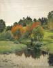 Berggolts Richard .  Early autumn. Art print on canvas