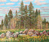 Chetverikov Albert . Early Summer. Fine art print B2