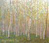 Chetverikov Albert . May Birches. Fine art print B2