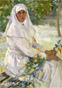 Goriushkin-Sorokopudov Ivan. Sister of Charity. Art print on canvas