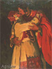 Goriushkin-Sorokopudov Ivan. Kiss. Art print on canvas