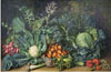 Ivanov Yefim. Still Life with Vegetables (Garden Vegetables). Art print on canvas - paintings, sale of paintings