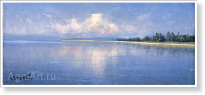 Kryzhitsky Konstantin. Morning on the Lake. Art print on canvas