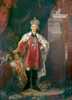 Borovikovsky Vladimir. Portrait of Paul I. Fine art postcard A6
