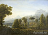 The Tretyakov Gallery. Matveev F. View of Sicily. The mountains. Art print on canvas