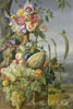 Volcker Frederik Wilhelm. Flowers and Fruit. Fine art postcard A6