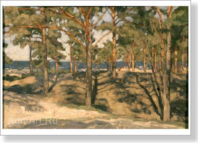 Zhukovsky Stanislav. Dunes. Art print on canvas