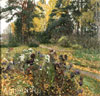 Zhukovsky Stanislav. Last asters. Art print on canvas