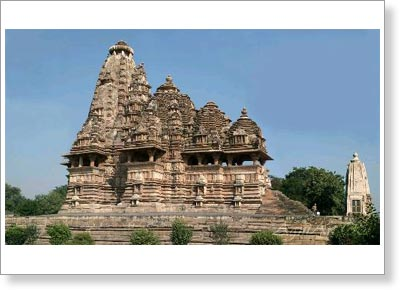 The Vishvanatha Temple (1002 AD). Khajuraho. The western group. Madhya Pradesh state. India. 3495