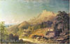 Ginet Alexandre. Ai-Petry (On the South Shore of Crimea).  Art print on canvas