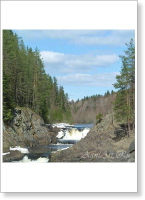 Landscapes of Russia. Karelia. 2120