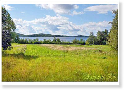Landscapes of Russia. Karelia. 319