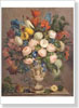 Kolesinsky Anton. Flowers in the Vase. Fine art print A3
