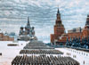 The Tretyakov Gallery. Yuon Constantin. Parade on red square in Moscow on November 7, 1941