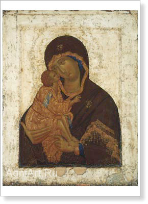 Icons. Our Lady of the Don. Fine art print B3