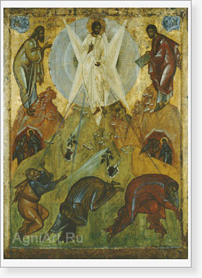 Icons. The Circle of Theophanes the Greek Transfiguration. Fine art print A4 +