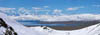 Lake View Kailash Manasarovar from. Poster B2+ (33x95 cm)