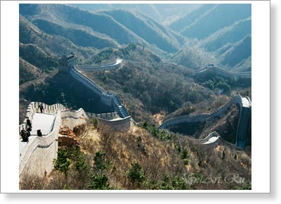 China. The Great Wall of China. Poster B3 (40x50 cm)