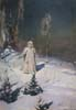 Vasnetsov Victor. Snow Maiden. Art print on canvas
