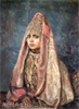 Vasnetsov Victor. Boyarin (Portrait of V.M. Mamontova). Art print on canvas