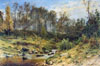 Shishkin Ivan. Stream in a Forest. Fine art print B2