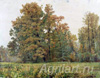 Shishkin Ivan. Autumn. Art print on canvas