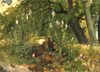 Shishkin Ivan. Forest Flowers. Art print on canvas