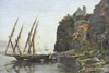 Shchedrin Sylvester. View of Vico Between Castellammare and Sorrento. Art print on canvas