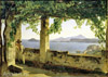 Shchedrin Sylvester. Terrace in Pozzuoli. Art print on canvas