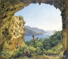 The Tretyakov Gallery. Shchedrin Sylvester. Matromanio Grotto on Capri island. Art print on canvas