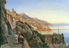 Shchedrin Sylvester. Sorrento. Art print on canvas