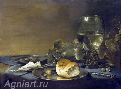 Still life. Art print on canvas