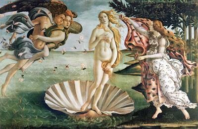 The Birth Of Venus. Art print on canvas.