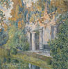 Golovin Alexander. In the Old Park. Art print on canvas