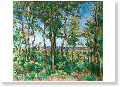 Konchalovsky Pyotr. New Oak Trees. Art print on canvas