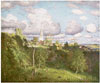 Dubovskoy Nikolay. Summer Clouds. Fine art print A3