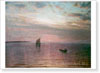 Dubovskoy Nikolay. Sunset.  Fine art print A3