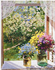 Gerasimov Alexander. Window. Art print on canvas