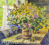 Gerasimov Alexander. Wild Flowers. Art print on canvas - paintings, sale of paintings