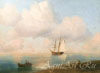 Aivazovsky Ivan. View of the Black Sea. Fine art print A3