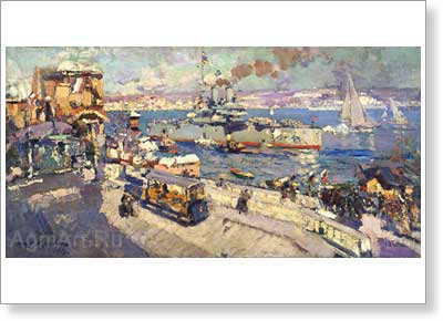 Korovin Konstantin. Celebration on the Water. Fine art print B2