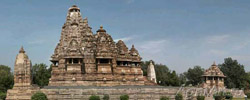 The Vishvanatha and Nandi Temples (1002 AD). Khajuraho. The western group. Madhya Pradesh state. India. 3496