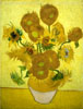 Van Gogh Vincent. Sunflowers. Fine art postcard A6