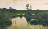 Volkov Yefim. The Bog. Art print on canvas
