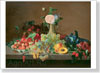 Khrutsky Ivan. Fruit and Flowers. Fine art print B3