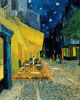 Van Gogh Vincent. Terrace of a cafe at night (Place du Forum). Art print on canvas
