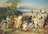 Картины Ivanov Alexander. Christ Appearing to the People (the Coming of the Messiah). Fine art print B2. Постер.