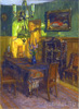 Gumpertz Clara. Interior. Art print on canvas