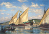 "Beggrov Alexander. Galley ""Tver"". Art print on canvas"