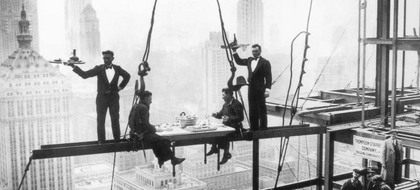 Photography Collection. Lunch above Manhattan [00759]